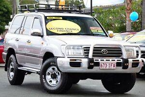 2003 Toyota Landcruiser UZJ100R GXL Silver 5 Speed Automatic Wagon Kedron Brisbane North East Preview