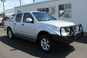 2013 Nissan Navara D40 S6 MY12 ST Silver 6 Speed Manual Utility Devonport Devonport Area Preview
