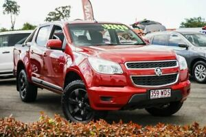 2015 Holden Colorado RG MY16 LS Crew Cab Red 6 Speed Sports Automatic Utility