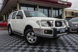 2011 Nissan Pathfinder R51 MY10 ST White 5 Speed Sports Automatic Wagon Alfred Cove Melville Area Preview