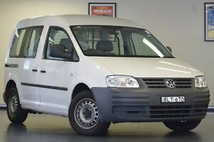 2009 Volkswagen Caddy 2KN SWB DSG White 6 Speed Sports Automatic Dual Clutch Van Chatswood Willoughby Area Preview
