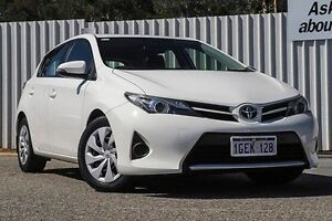 2014 Toyota Corolla ZRE182R Ascent S-CVT White 7 Speed Constant Variable Hatchback Gosnells Gosnells Area Preview