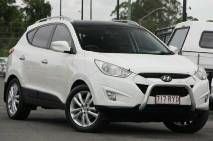 2011 Hyundai ix35 LM MY12 Highlander AWD White 6 Speed Sports Automatic Wagon Brendale Pine Rivers Area Preview