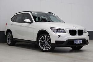 2013 BMW X1 E84 MY13 sDrive 20I Sportline Pearl White 8 Speed Automatic Wagon Bentley Canning Area Preview