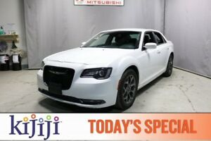 2017 Chrysler 300 AWD S Accident Free,  Leather,  Heated Seats,