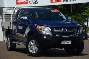 2011 Mazda BT-50 UP0YF1 GT Blue 6 Speed Sports Automatic Utility Moorooka Brisbane South West Preview