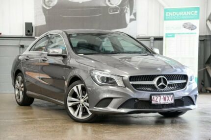 2013 Mercedes-Benz CLA200 C117 DCT Grey 7 Speed Sports Automatic Dual Clutch Coupe Albion Brisbane North East Preview