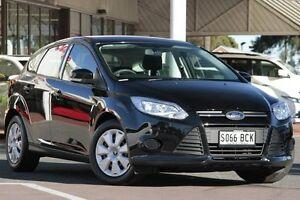 2014 Ford Focus LW MKII Ambiente Black 5 Speed Manual Hatchback Christies Beach Morphett Vale Area Preview