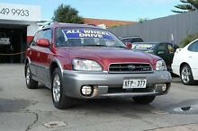 2002 Subaru Outback MY02 H6 Maroon 4 Speed Automatic Wagon Pooraka Salisbury Area Preview