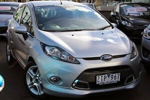 2013 Ford Fiesta WT Zetec PwrShift Silver 6 Speed Sports Automatic Dual Clutch Hatchback Coburg Moreland Area Preview