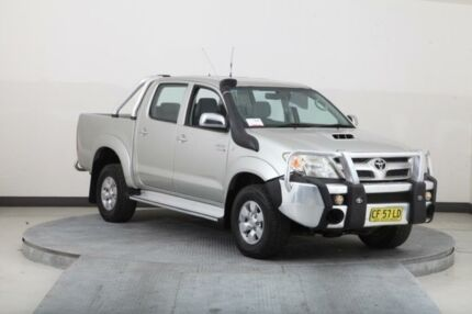 2008 Toyota Hilux KUN26R 08 Upgrade SR5 (4x4) Silver 4 Speed Automatic Dual Cab Pick-up Smithfield Parramatta Area Preview