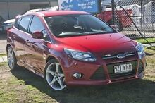 2013 Ford Focus LW MKII Titanium Candy Red Automatic Hatchback Capalaba West Brisbane South East Preview