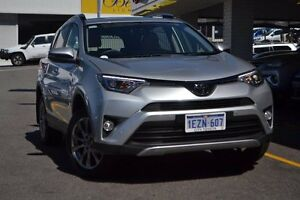 2016 Toyota RAV4 ASA44R Cruiser AWD Silver Pearl 6 Speed Sports Automatic Wagon Claremont Nedlands Area Preview