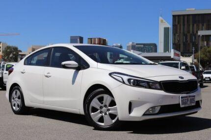 2017 Kia Cerato YD MY17 S Pearl 6 Speed Auto Seq Sportshift Sedan Northbridge Perth City Area Preview