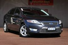 2010 Ford Mondeo MB Zetec Tdci Grey 6 Speed Sports Automatic Hatchback Northbridge Perth City Preview