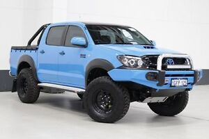 2010 Toyota Hilux KUN26R MY11 Upgrade SR (4x4) Marina Blue 5 Speed Manual Dual Cab Pick-up Bentley Canning Area Preview