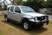 2007 Nissan Navara D40 RX Silver 5 Speed Automatic Utility Ormeau Gold Coast North Preview