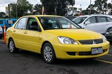 2007 Mitsubishi Lancer CH MY07 ES Yellow 4 Speed Auto Sports Mode Sedan Ringwood East Maroondah Area Preview