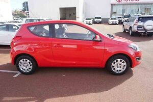 2014 Hyundai i20 PB MY14 Active Red 6 Speed Manual Hatchback Balcatta Stirling Area Preview