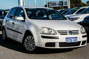 2005 Volkswagen Golf V Trendline Tiptronic White 6 Speed Sports Automatic Hatchback Pearsall Wanneroo Area Preview