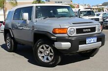2014 Toyota FJ Cruiser GSJ15R MY14 Cement/White Roof 5 Speed Automatic Wagon Northbridge Perth City Preview