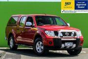 2008 Nissan Navara D40 ST-X Burgundy 5 Speed Automatic Utility Ringwood East Maroondah Area Preview
