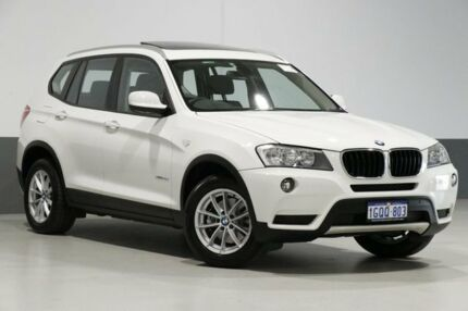 2011 BMW X3 F25 xDrive 20D White 8 Speed Automatic Wagon Bentley Canning Area Preview
