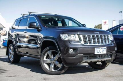 2012 Jeep Grand Cherokee WK MY12 Overland (4x4) Silver 6 Speed Automatic Wagon Glendalough Stirling Area Preview