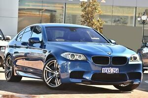 2012 BMW M5 F10 MY12 M-DCT Blue 7 Speed Sports Automatic Dual Clutch Sedan Osborne Park Stirling Area Preview
