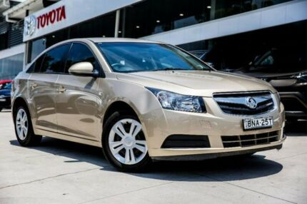 2009 Holden Cruze JG CD Gold 5 Speed Manual Sedan Baulkham Hills The Hills District Preview