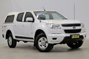 2012 Holden Colorado RG MY13 LX Crew Cab White 6 Speed Sports Automatic Utility Seven Hills Blacktown Area Preview