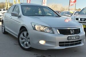 2009 Honda Accord 8th Gen VTi-L Silver 5 Speed Sports Automatic Sedan Pearce Woden Valley Preview