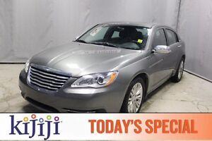 2013 Chrysler 200 LIMITED Leather,  Heated Seats,  Sunroof,  Blu