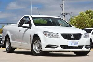 2013 Holden Ute VF Heron White 6 Speed Automatic Utility Victoria Park Victoria Park Area Preview