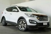 2014 Hyundai Santa Fe DM MY13 Elite White Semi Auto Wagon Underwood Logan Area Preview