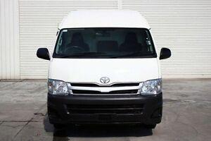 2012 Toyota Hiace KDH221R MY12 Super LWB White 4 Speed Automatic Van Seaford Frankston Area Preview