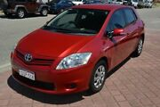 2011 Toyota Corolla ZRE152R MY11 Ascent Red 4 Speed Automatic Hatchback Rockingham Rockingham Area Preview