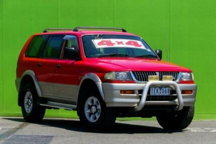 1998 Mitsubishi Challenger PA 4 Speed Automatic Wagon