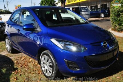 2010 Mazda 2 DE10Y1 MY10 Neo Green 5 Speed Manual Hatchback Mornington Mornington Peninsula Preview