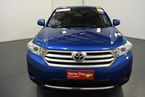 2013 Toyota Kluger GSU40R MY13 Upgrade KX-R (FWD) 7 Seat Tidal Blue 5 Speed Automatic Wagon Moorabbin Kingston Area Preview