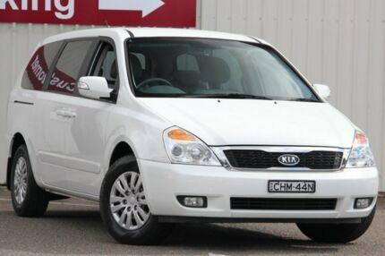 2012 Kia Grand Carnival VQ MY13 S White 6 Speed Sports Automatic Wagon