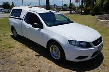2009 Ford Falcon FG Ute Super Cab White 4 Speed Sports Automatic Utility Pearsall Wanneroo Area Preview