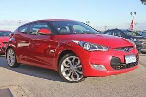 2012 Hyundai Veloster FS Coupe Red 6 Speed Manual Hatchback Pearsall Wanneroo Area Preview