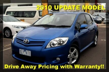 2009 Toyota Corolla ZRE152R MY10 Levin SX Blue 6 Speed Manual Hatchback Hoppers Crossing Wyndham Area Preview