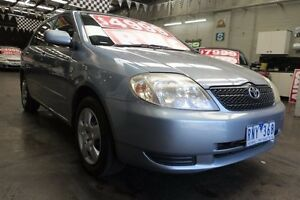 2002 Toyota Corolla ZZE122R Conquest Seca 5 Speed Manual Hatchback Mordialloc Kingston Area Preview