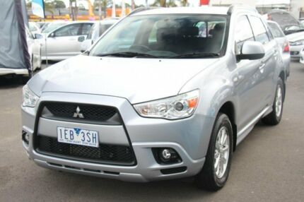 2011 Mitsubishi ASX XA MY12 Silver 6 Speed Manual Wagon