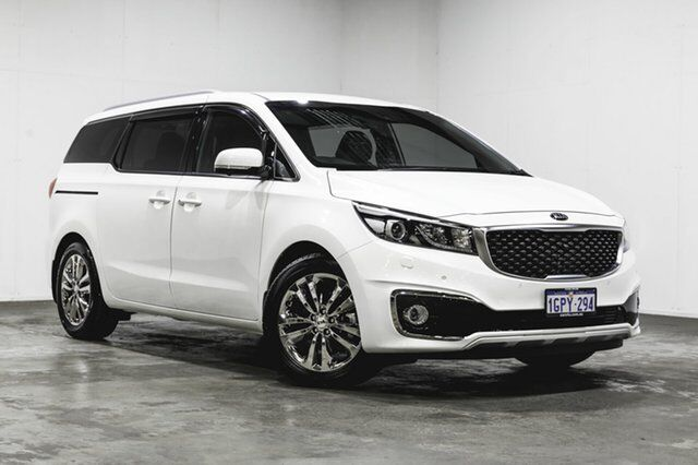 2018 Kia Carnival Yp My18 Platinum White 6 Speed Sports Automatic