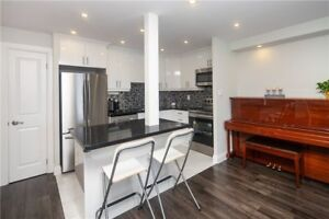 Totally Renovated Bright & Spacious 2 + Solarium & 2 Baths