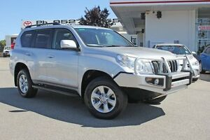2012 Toyota Landcruiser Prado KDJ150R GXL Silver Pearl 5 Speed Sports Automatic Wagon Hillman Rockingham Area Preview