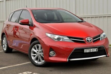 2014 Toyota Corolla ZRE182R Ascent Sport Red 6 Speed Manual Hatchback Gosford Gosford Area Preview